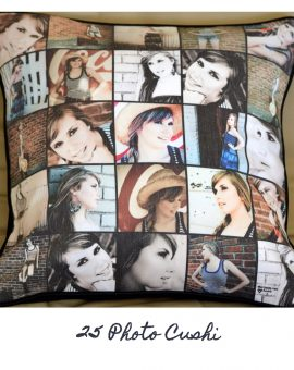 25 Photo Cushion