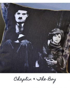 Charles Chaplin & The Boy Cushion
