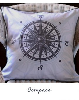 Compass Cushion
