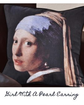 Girl With A Pearl Earring Cushion