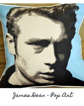 James Dean Cushion - Pop Art