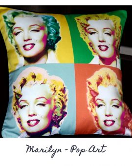 Marilyn Cushion - Pop Art