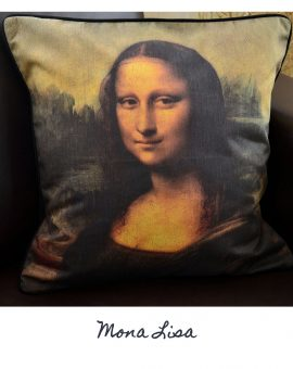 Mona Lisa Cushion
