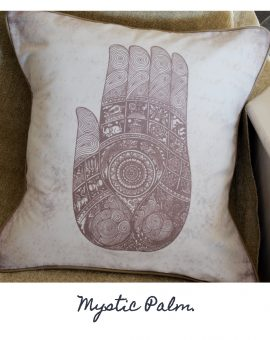 Mystic Palm Cushion