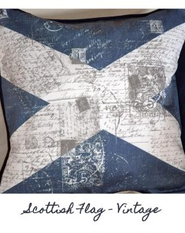 Scottish Flag Cushion