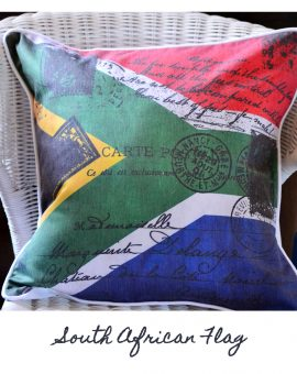 South African Flag Cushion