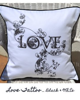 love_tattoo_bw_cushion